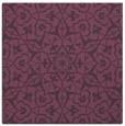 rug #933397 | square purple geometry rug