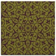 rug #933401 | square purple damask rug