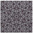 rug #933409   square purple damask rug