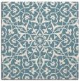 rug #933461   square blue-green rug