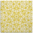 rug #933481   square yellow traditional rug