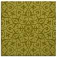 rug #933493 | square light-green traditional rug