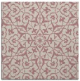 rug #933513 | square pink traditional rug
