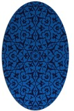 rug #933558 | oval traditional rug