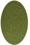 rug #933571 | oval geometry rug