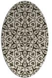 rug #933706 | oval traditional rug