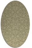rug #933859 | oval traditional rug