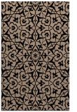 rug #933897 |  black damask rug