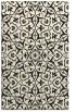 rug #933909    black traditional rug