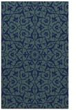rug #933925 |  blue damask rug