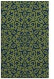 rug #933929 |  green damask rug