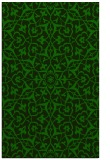 rug #933945 |  green damask rug