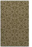 rug #934001 |  brown damask rug