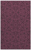 rug #934117 |  purple damask rug