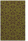 rug #934121 |  purple traditional rug