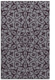 rug #934129 |  purple traditional rug