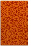 rug #934137 |  red traditional rug