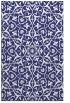 rug #934173 |  blue damask rug