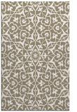 rug #934185 |  beige damask rug