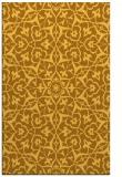 rug #934205 |  yellow geometry rug