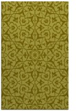 rug #934213 |  light-green damask rug