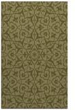 rug #934225 |  light-green damask rug