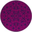 rug #934281 | round damask rug