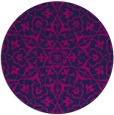 rug #934282 | round damask rug