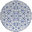 rug #934293 | round blue traditional rug