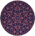 rug #934342 | round traditional rug