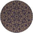 rug #934353 | round beige geometry rug