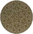 rug #934361 | round mid-brown traditional rug