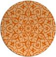 rug #934513 | round damask rug
