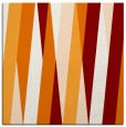 rug #935169 | square orange abstract rug