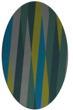 rug #935457 | oval abstract rug