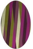rug #935562 | oval stripes rug