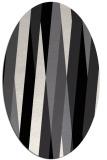 rug #935605 | oval abstract rug