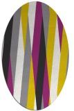 rug #935643 | oval abstract rug