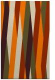 rug #935685 |  orange abstract rug
