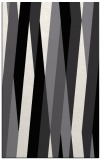 rug #935689 |  black abstract rug