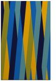 rug #935717 |  blue abstract rug