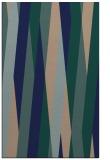 rug #935725 |  blue stripes rug