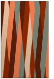 rug #935897 |  red-orange graphic rug