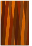 rug #935949 |  red-orange abstract rug