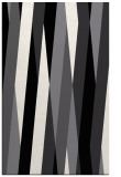 rug #935965 |  black stripes rug