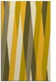 rug #935989 |  yellow abstract rug