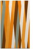 rug #936037 |  light-orange abstract rug