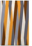 rug #936041 |  light-orange abstract rug