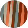 rug #936254 | round abstract rug