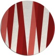 rug #936301 | round red graphic rug